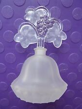 IRICE Glass Perfume Bottle Frosted Glass with Label