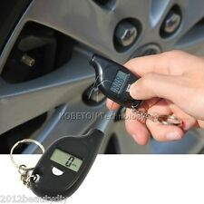 Air Meter Gauge Mini Portable Digital Car Auto Tire Pressure Tester Motorcycle