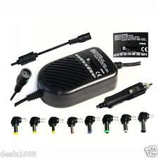 80W Universel Chargeur Auto Adaptateur Alimentation DC pour PC portable Bureau