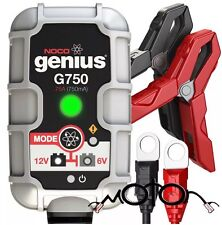 NOCO Genius G750UK 6V/12 .75A UltraSafe Smart Battery Charger
