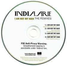 India.Arie I AM NOT MY HAIR (The Remixes) (Promo Maxi CD Single) (2006) RARE