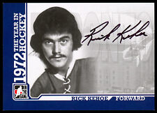 ITG 1972 THE YEAR IN HOCKEY AUTO AUTOGRAPH SIGNED RICK KEHOE TORONTO MAPLE LEAFS