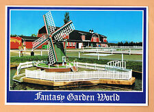 Fantasy Garden World Duck Pond and Barn - Richmond BC Unused Postcard B.C.