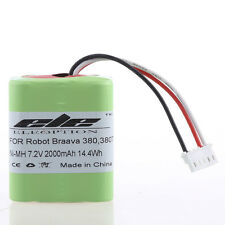 7.2V 2000mAh Ni-MH Battery for iRobot Roomba Braava 380 380T