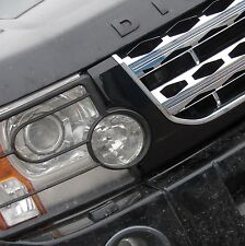 Black+Chrome+Chrome Disco 4 facelift style front grille Land Rover Discovery 3