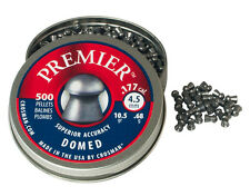 CROSMAN PREMIER DOMED 4.5 mm cal. .177 500 pcs. Air rifle Airgun pellets