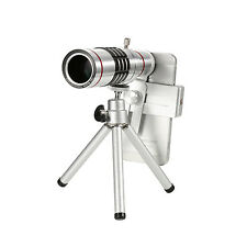 NEW Universal 18x Zoom Optical Mobile Phone Telescope Telephoto Camera Len+Clip