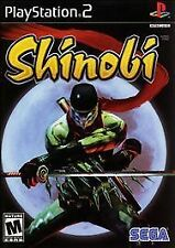 Shinobi Playstation 2 PS2 Japan Ver japan only