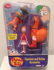 Phineas and Ferb Figure Set Agent P Candace Tootin Space Suit 2 Pack Disney NEW