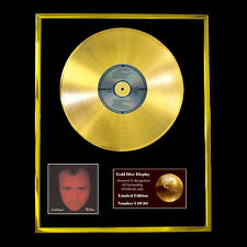PHIL COLLINS NO JACKET CD GOLD DISC RECORD FREE P&P!!