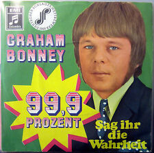 Single / GRAHAM BONNEY / 60er / SCHLAGER / RARITÄT /