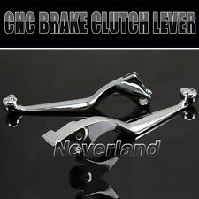 Brake Clutch Levers For 1994-2010 Honda Magna Shadow 600 750 1100 VTX1300 Chrome
