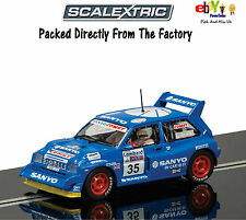 ALL NEW SCALEXTRIC Slot Car MG Metro 6R4 C3639