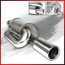 Twin Loop 2.5 Inlet Power Axle Back Stainless Deep Sound Muffler Exhaust Set