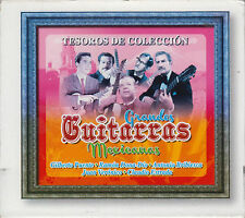 CD - Grandes Guitarras Mexicanas NEW Tesoros De Coleccion 3 CD's FAST SHIPPING !