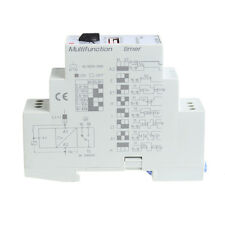 1Pc AC/DC 24-240V DHC19-M Multifunction Timer Time Relay