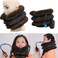 Inflatable Neck Pain Relief Stretcher Shoulder Tension Back Traction Adjustable