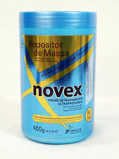 Novex Repositor de Massa Hair Body Builder Extra Deep Hair Care Cream 14oz 400 g