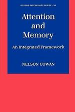 Attention and Memory: An Integrated Framework (Oxford Psychology Serie-ExLibrary