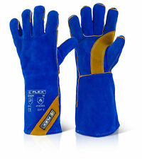 WELDING GLOVES/ GAUNTLETS/WELDERS GLOVE/ CAT 2 DOUBLE PALM REINFORCED SIZE 10