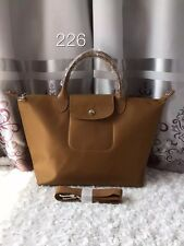 Authentic Longchamp Neo Bronze Medium sh