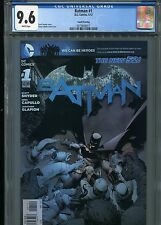 Batman #1  New 52 (4th print)  CGC 9.6  White Pages