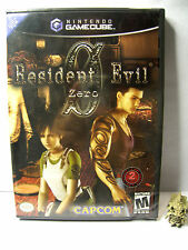 resident evil zero 0 NINTENDO GAME CUBE  version ntsc USA neuf - NEW SEALED