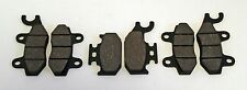 2004 2005 2006 2007 YAMAHA YXR660 660 RHINO FRONT AND REAR BRAKE PADS