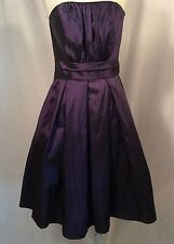 Cinderella Design Plum Purple Special Occasion Prom Swing Formal Dress M