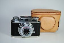 VINTAGE BOLSEY B 22 SET-O-MATIC 35mm CAMERA w/ Wollensak 44mm F3.2 Lens