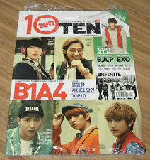 TENTEN 10TEN B1A4 EXO B.A.P INFINITE BEAST VIXX MAGAZINE 2013 SEP SEPTEMBER NEW