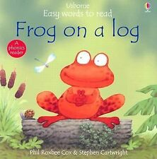 Frog on a Log (Usborne Easy Words to Read Series)
