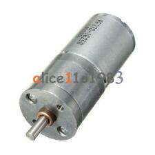 Motor Speed Reduction Gear Motor Electric 12V DC 60RPM Powerful Torque 25mm