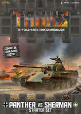 Gale Force Nine BNIB TANKS Starter Set - Panther vs Sherman GFNTANKS01