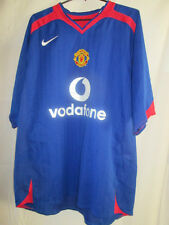 "Manchester United Man Utd 2005-2006 Away Football Shirt Size Large 42""-44"" 39571"
