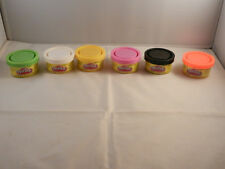 """6 - CONTAINERS OF COLORED PLAY-DOH """"NEW"""" 1 OZ. IN SIZE"""