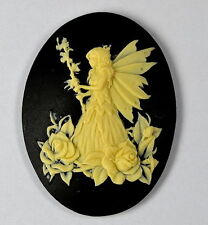 FAIRY cameo SILICONE MOULDCupcake polymer clay chocolate resin fimo mold