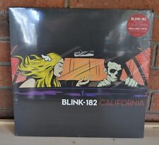 *BLINK -182 California  Limited Edition 180G RED Colored Vinyl LP NEW + Download