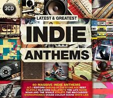 INDIE ANTHEMS feat. The Editors, White Lies, The Enemy u.a.  3 CD NEU