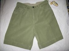 NWT Tommy Bahama relax green corduroy casual shorts Size 36