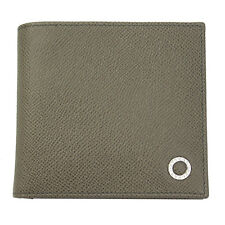 BRAND NEW BVLGARI BVLGARI MEN'S BEIGE LEATHER BI-FOLD WALLET 30397