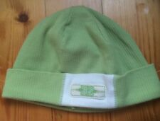 BABY TODDLER LIME GREEN COTTON BEANIE HAT CAP AGE 1-3 YEARS