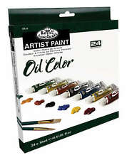 Royal Langnickel Oil Colour 24 x 12ml Paint Tube Box Set. Assorted Colours