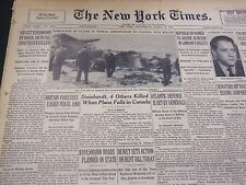 1950 MARCH 29 NEW YORK TIMES - STEINHARDT, 4 OTHERS KILLED IN CRASH - NT 4651