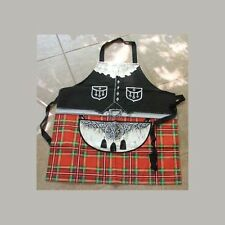 Ulster Cotton Drill Sporran Apron Bagpiper! Irish Made
