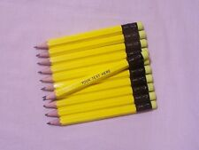 "24 ""NEON YELLOW""  Personalized Golf Pencils with Erasers"