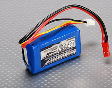 New Turnigy 800mAh 2S 7.4v 1P 20C 30C Lipo Battery Pack eflite parkzone jst US