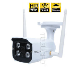 Toguard Outdoor Waterproof 720P HD WiFi Network IP Security Camera Night Vision