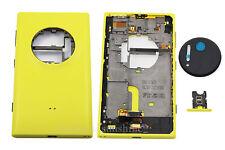 Yellow New Housing Cover Case+Camera Cover Lens + SIM Tray For Nokia Lumia 1020