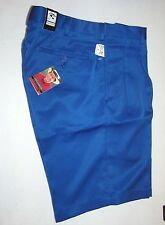$99.50 New Jos A Bank Leadbetter performance pleated golf shorts Blue 52 W
